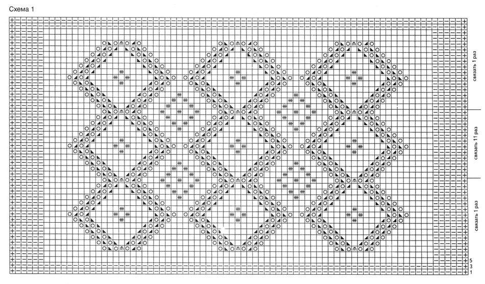 Схема рисунков для мохера