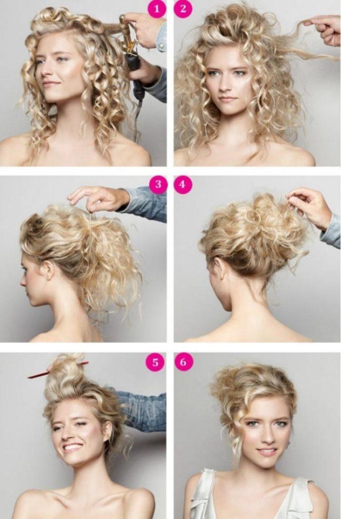 Как сделать волны на короткие волосы фото