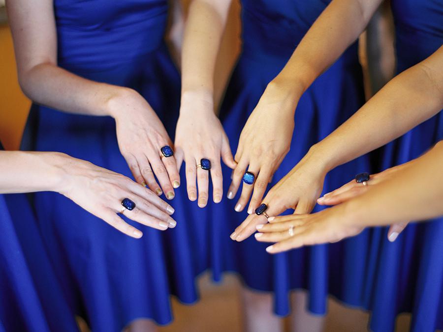 Маникюр на свадьбу подружке невесты