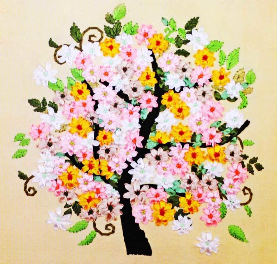Рисунки для вышивки дерево