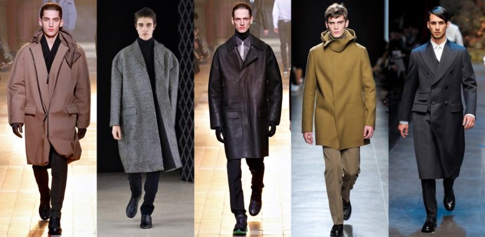 Стильные образы для повседневной уличной моды 2018-2019 года для мужчин на весну, осень в пальто