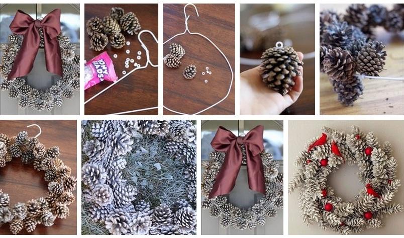 Рождественские украшения своими руками 95