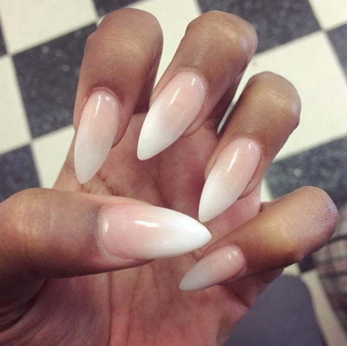 Как называются ногти острые