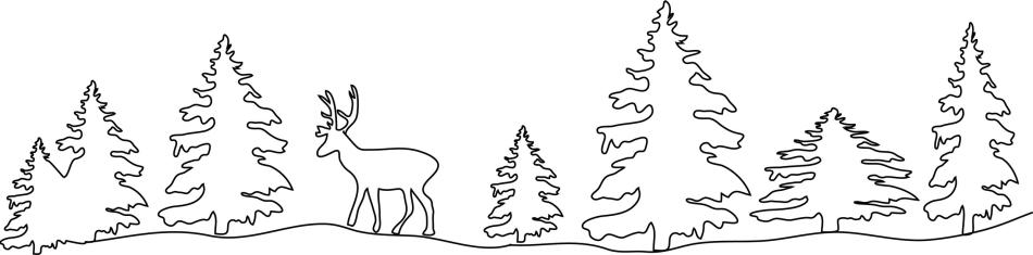 Вытынанка сугробы снега