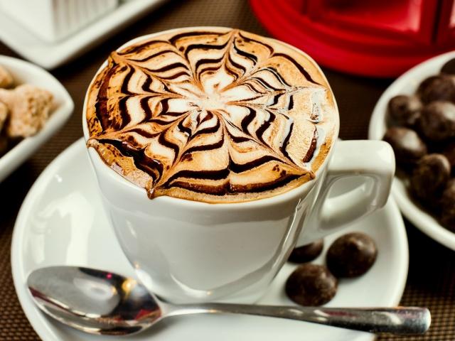 с орехом кофе Рецепт миндальным