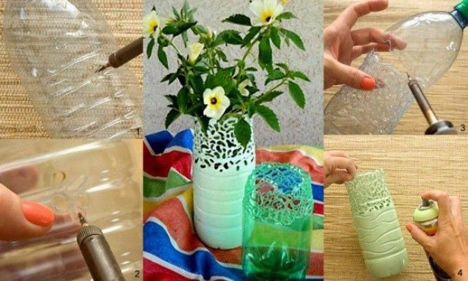 Рукоделие из пластиковых бутылок