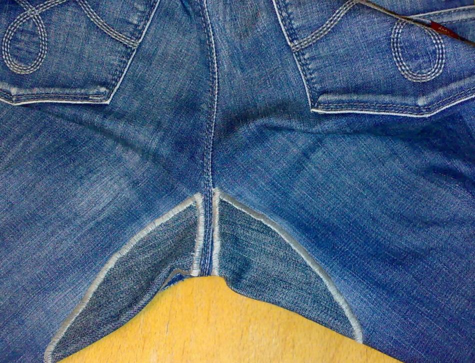Как сделать заплатку на брюках вручную