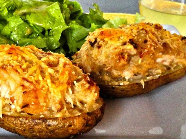 Запечь картофель в горшочке
