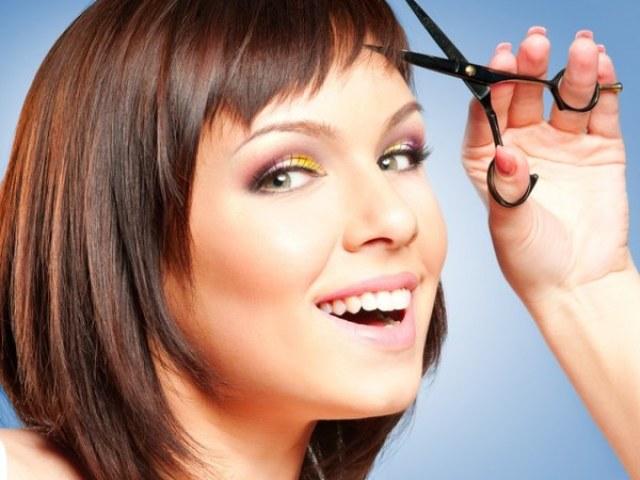 Причёски для круглого лица на средние волосы фото на короткие волосы