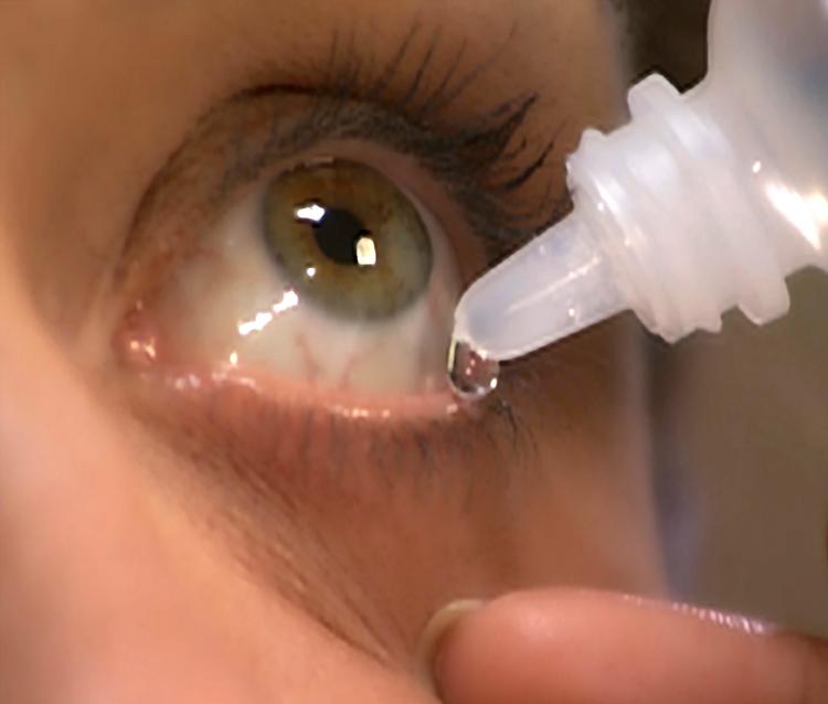 Как сделать промывание глаз 631