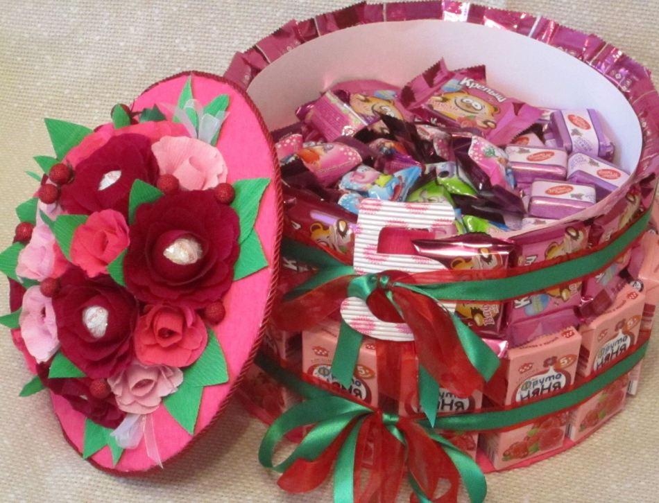 Тортики для детского сада из сока и конфет своими руками фото 42