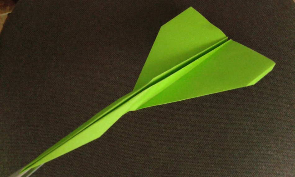 Как сделать из бумаги самолет видео крутой