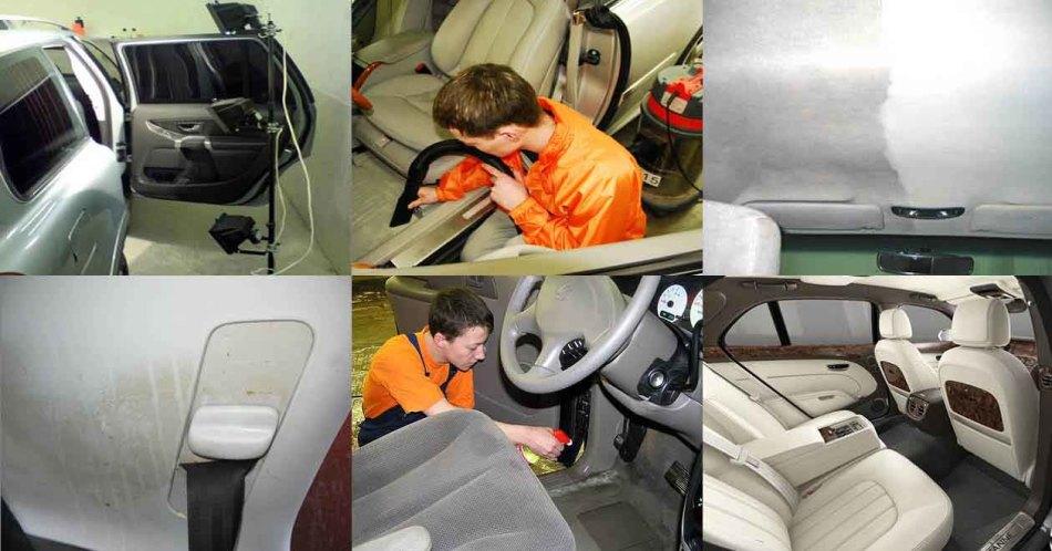 Химчистка панелей автомобиля своими руками