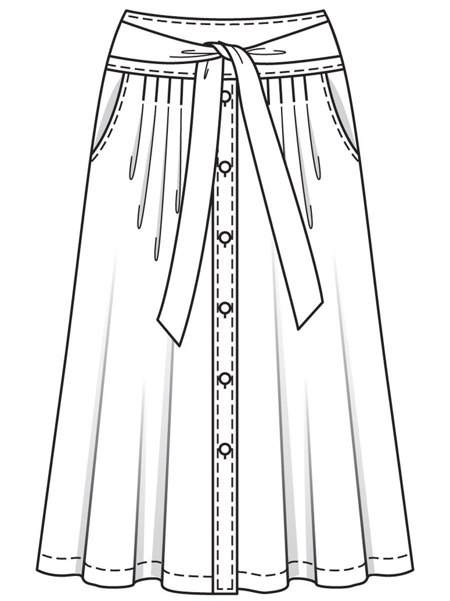 Летняя юбка своими руками Yana Sokolova Medium