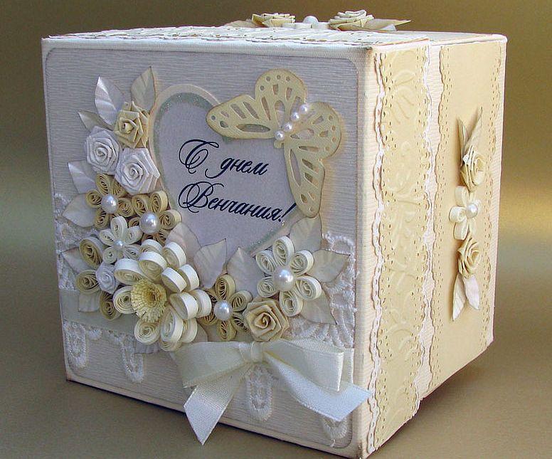 Коробка своими руками свадебная