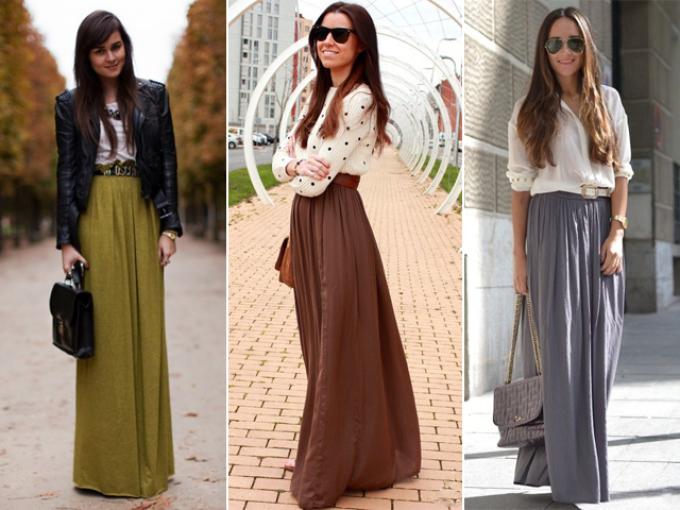 Из длинной юбки штаны