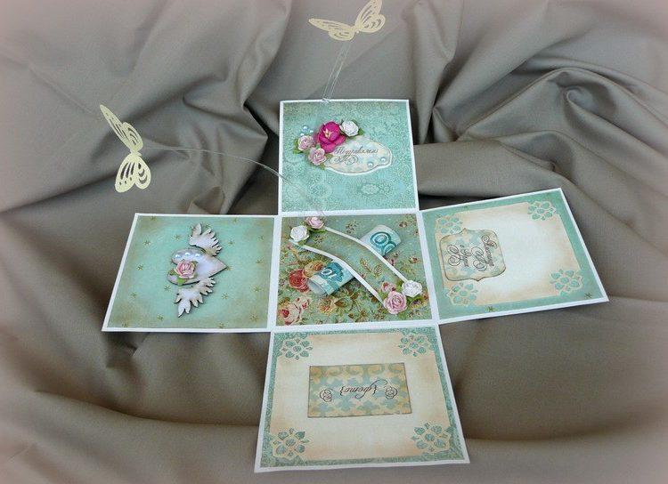 Как сделать и украсить подарочную коробочку из бумаги - Мама 74