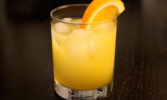 Коктейль из водки и апельсинового сока