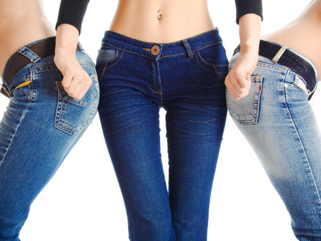 Как сделать что джинсы сели