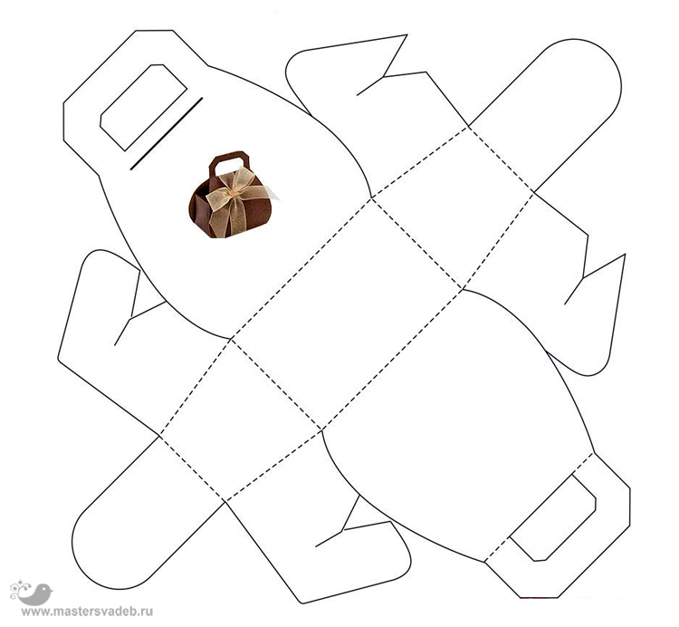 Коробочки сумочки своими руками