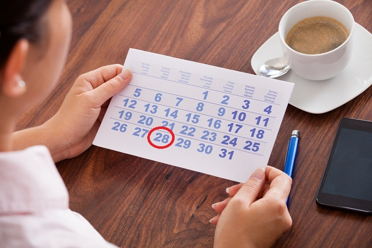 Полагаемая продолжительность - 28 дней