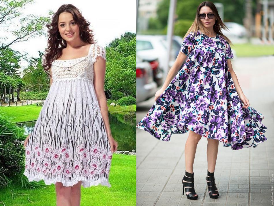 Как сшить летнее платье для беременной 7