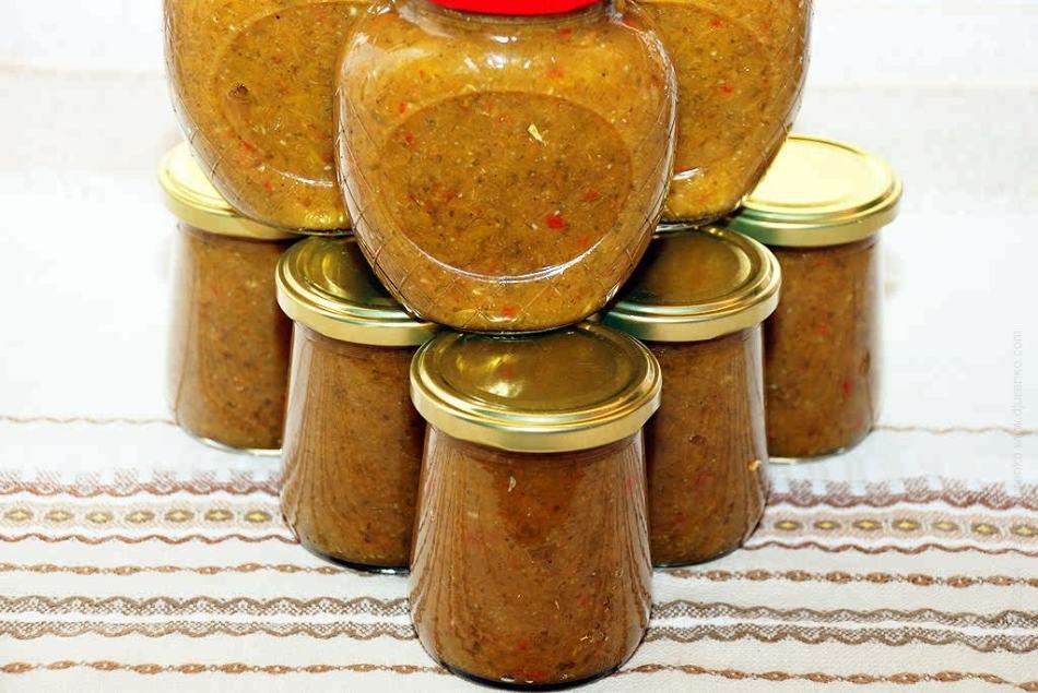 Заготовки на зиму - вкусные приправы из сливы, крыжовника, яблок, красной смородины, чернослива, алычи, груш, абрикосов, терна: