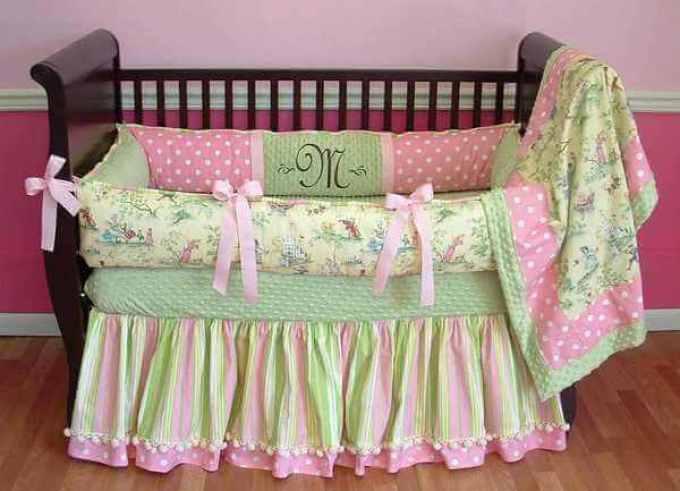Постельное белье в кроватку сшить 3