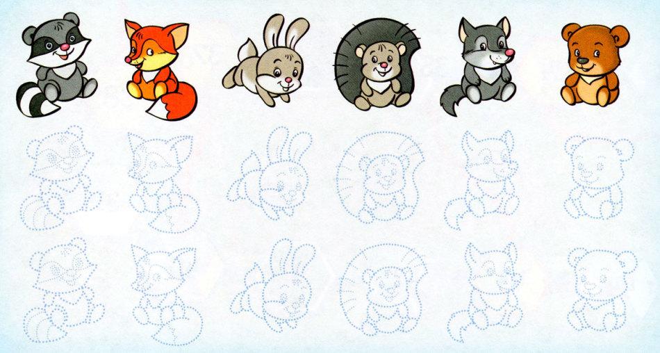 Картинки как рисовать зверята