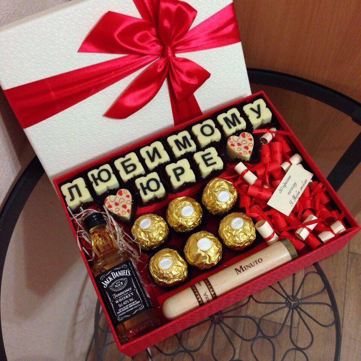А вот такому сладкому и не только подарку на 14 февраля обрадуется и мужчина