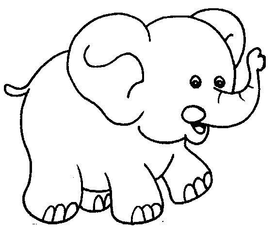 "Трафарет для мобиля ""слон"""