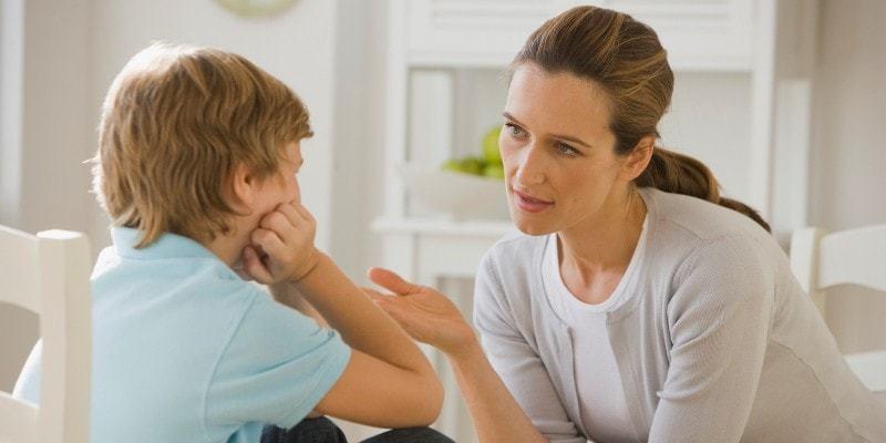 Маме нужно говорить с ребенком
