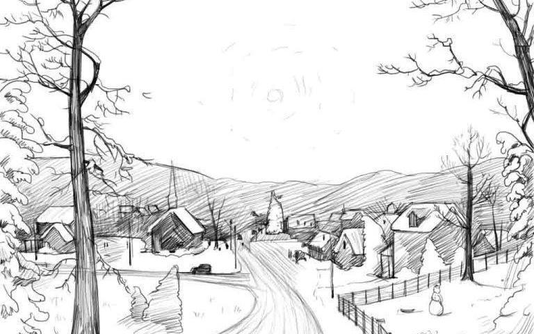 Рисунки для девочек 14 лет простым карандашом