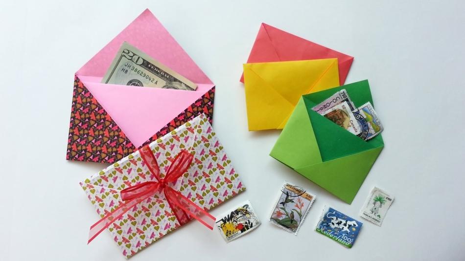 Как сделать из бумаги кошелёк для денег