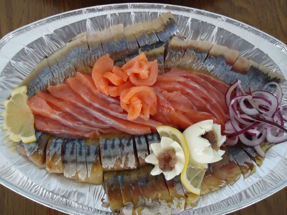Фото нарезка из рыбы на стол фото в домашних условиях