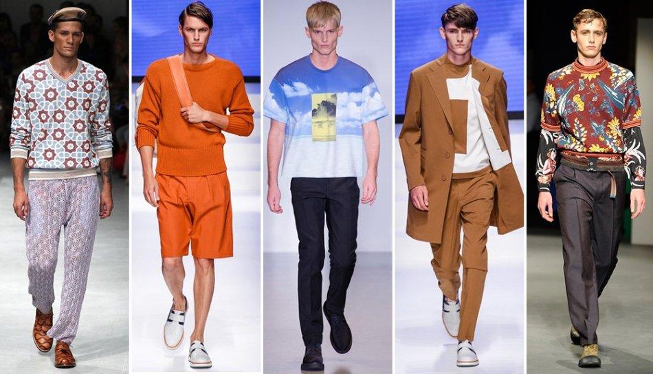 Стильная уличная мода на лето 2018-2019 для полных парней и мужчин