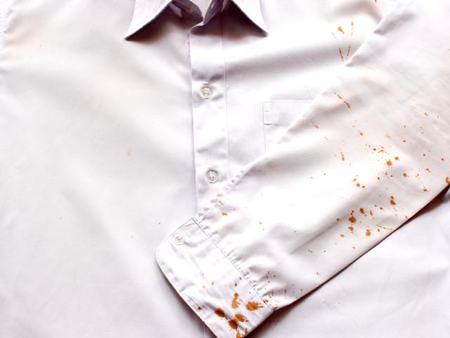 Как сделать пятно на рубашке 678