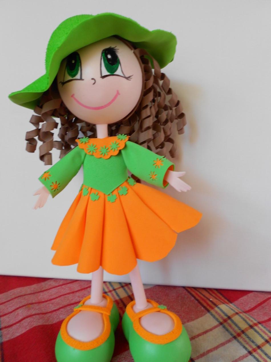 Кукол из фоамирана своими руками 973