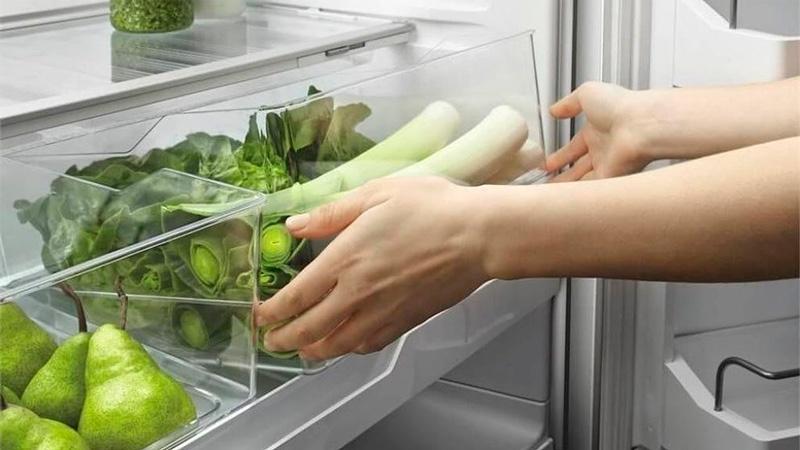 Хранение лука в холодильнике