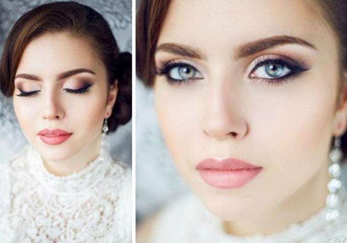 Как сделать свадебные макияжи