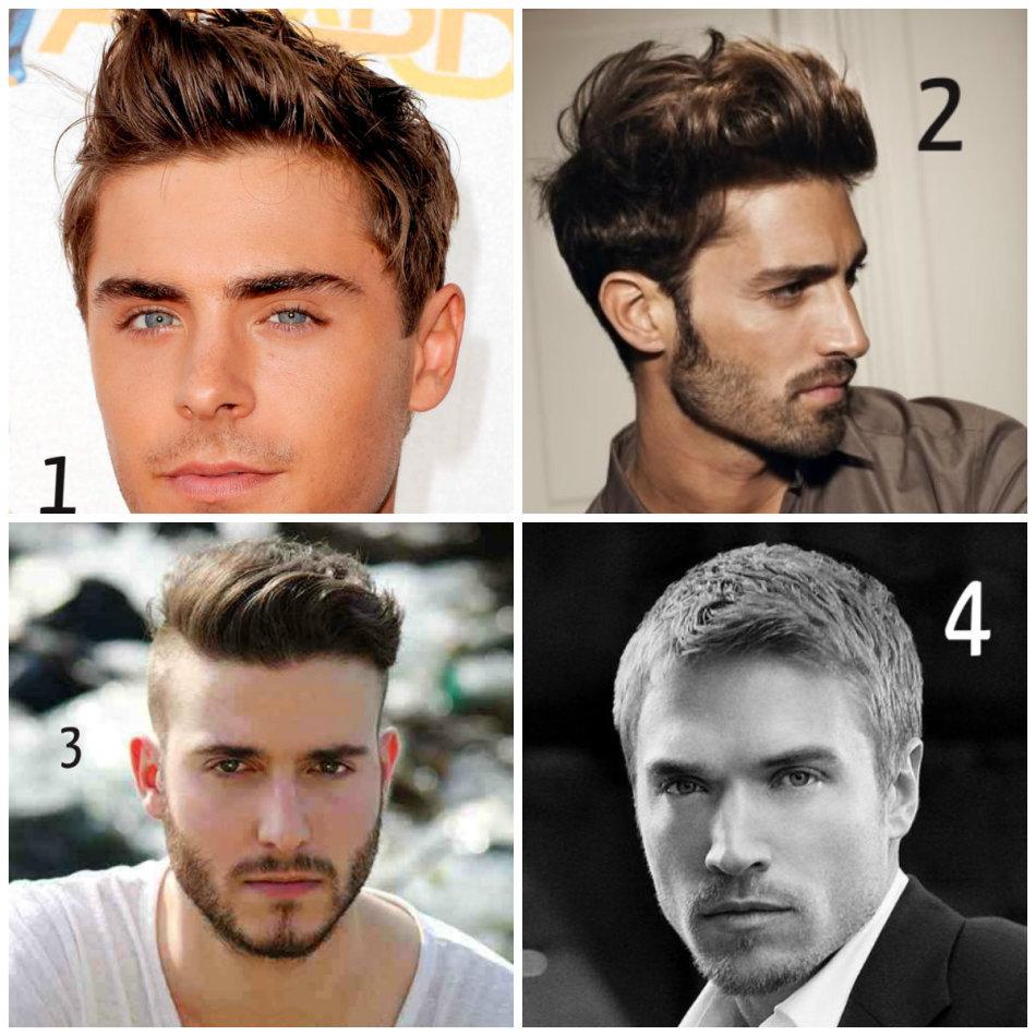 Как без фена уложить волосы мужчине