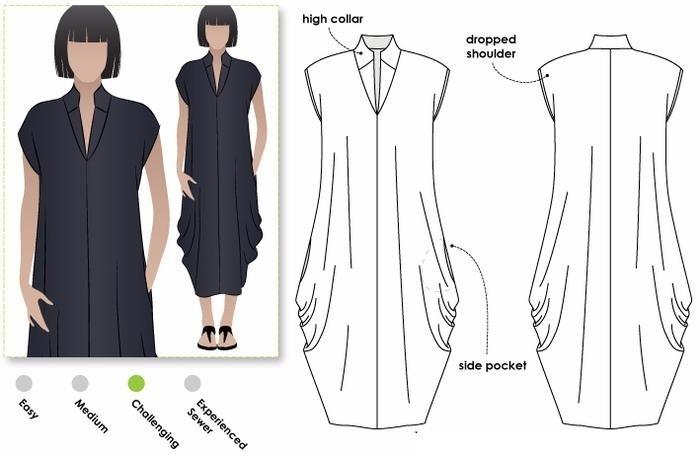 Платье бохо для полных выкройки