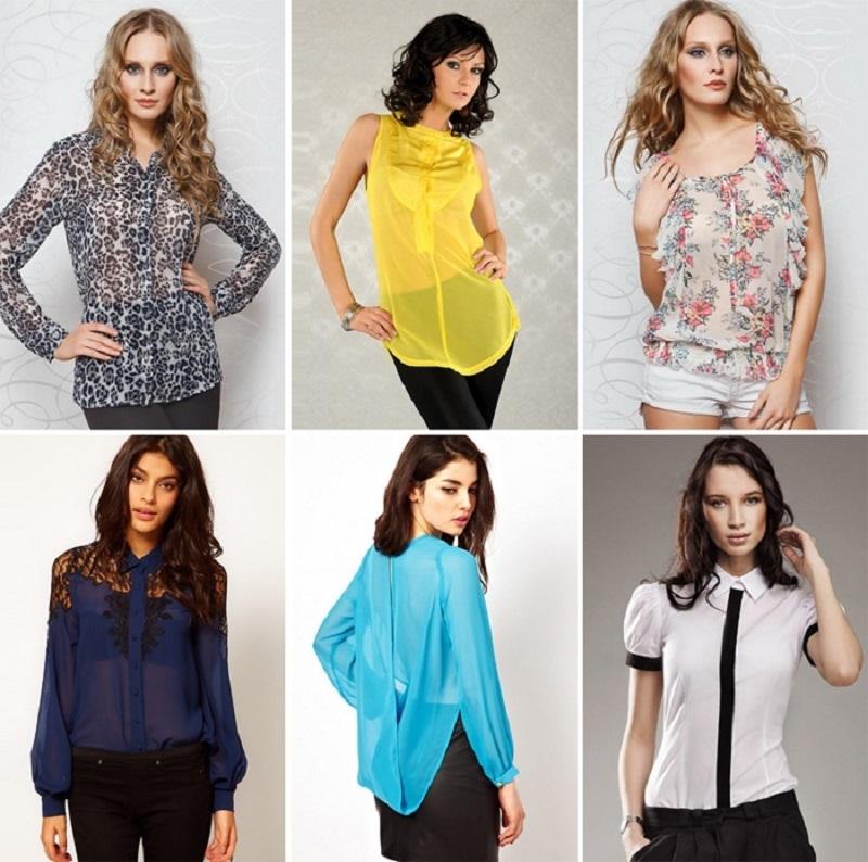 Выбор Модной Блузки
