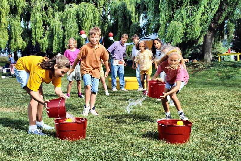 Весёлые конкурсы на природе для детей