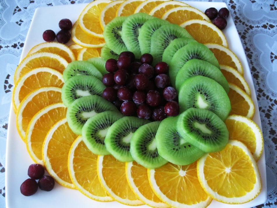 рецепты фруктовых салатов на день рождения с фото