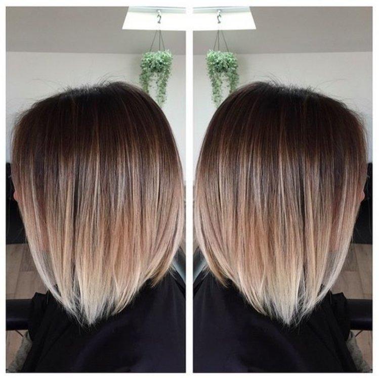 Шатуш на короткий волос