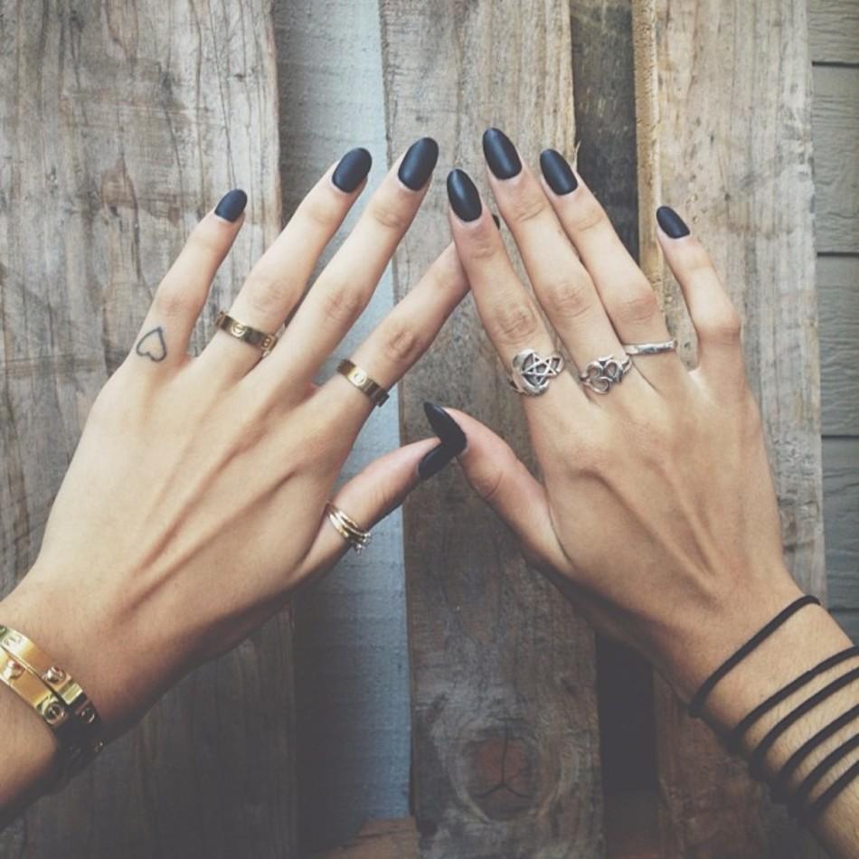 Красивые маникюры на пальцах