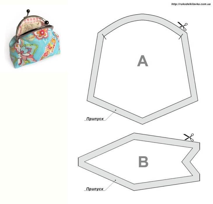 Выкройки сумок кошельков своими руками