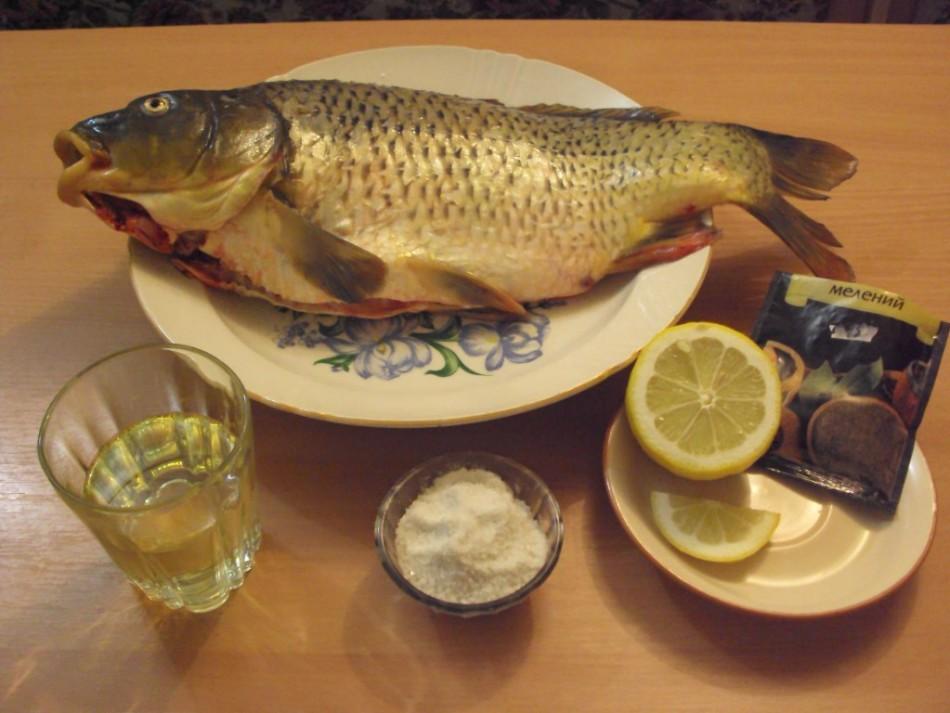 Рыба сазан рецепты фото