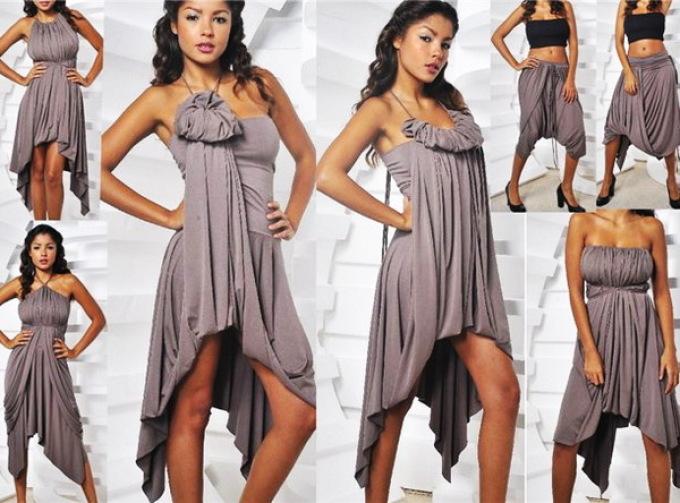 Как сшив платье трансформер 976